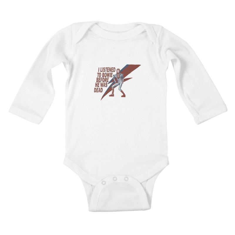 Deado Deado Kids Baby Longsleeve Bodysuit by JQBX Store - Listen Together