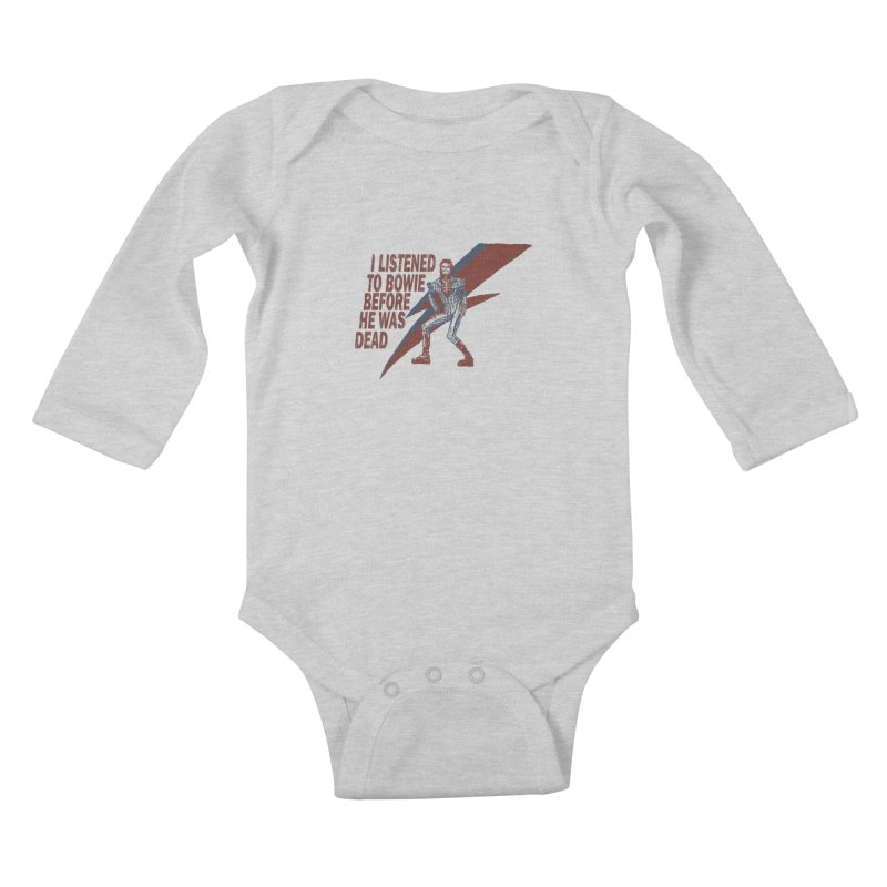 Deado Deado Kids Baby Longsleeve Bodysuit by JQBX Store - Listen Together