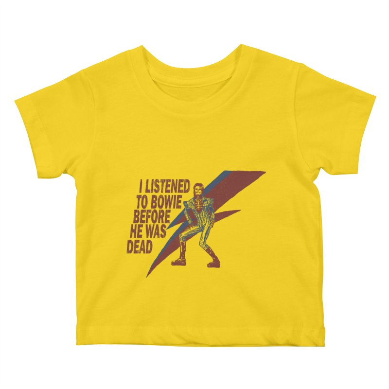 Deado Deado Kids Baby T-Shirt by JQBX Store - Listen Together