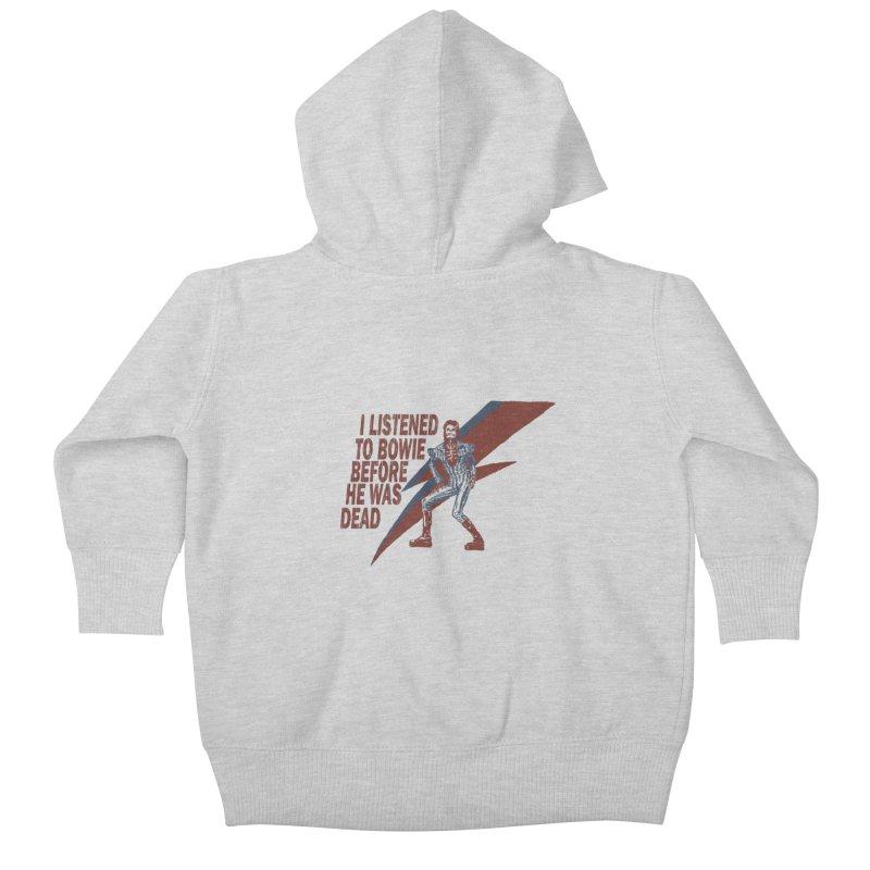 Deado Deado Kids Baby Zip-Up Hoody by JQBX Store - Listen Together