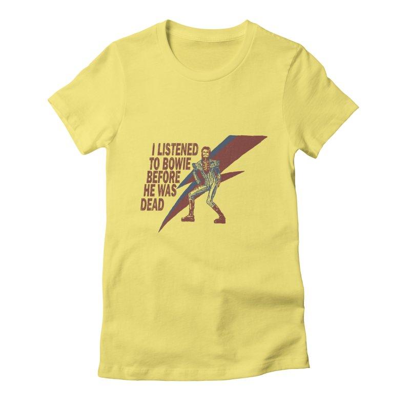 Deado Deado Women's Fitted T-Shirt by JQBX Store - Listen Together