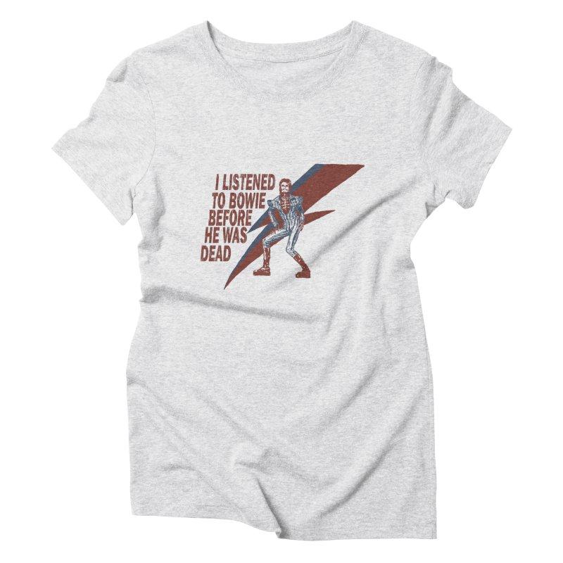 Deado Deado Women's Triblend T-Shirt by JQBX Store - Listen Together
