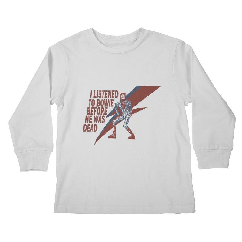 Deado Deado Kids Longsleeve T-Shirt by JQBX Store - Listen Together