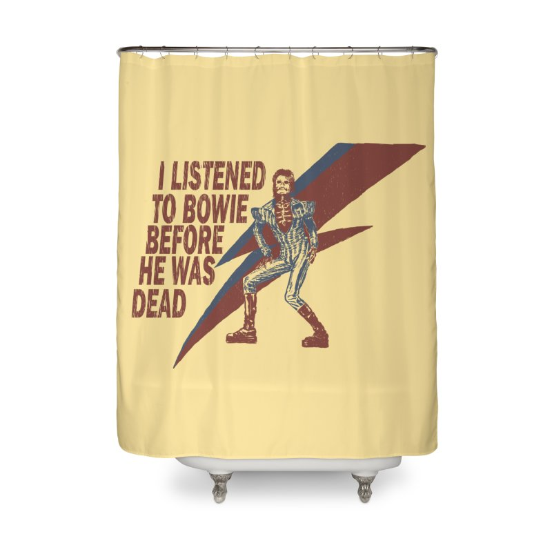 Deado Deado Home Shower Curtain by JQBX Store - Listen Together