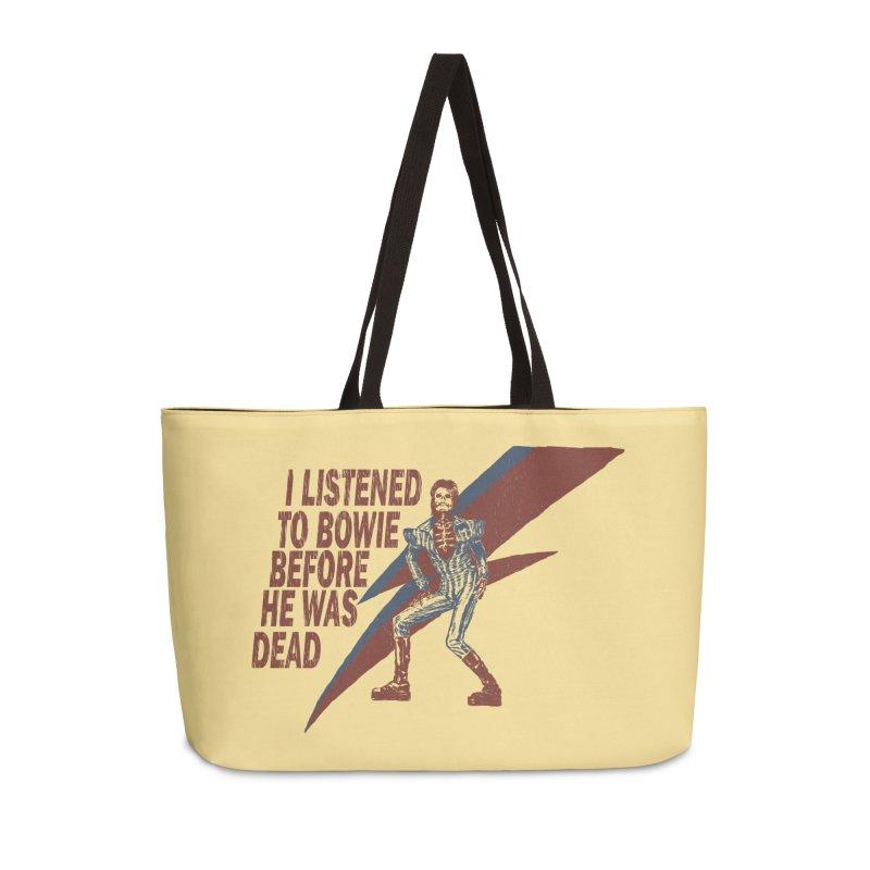 Deado Deado Accessories Weekender Bag Bag by JQBX Store - Listen Together