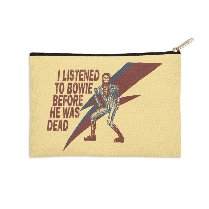 Deado Deado Accessories Zip Pouch by JQBX Store - Listen Together