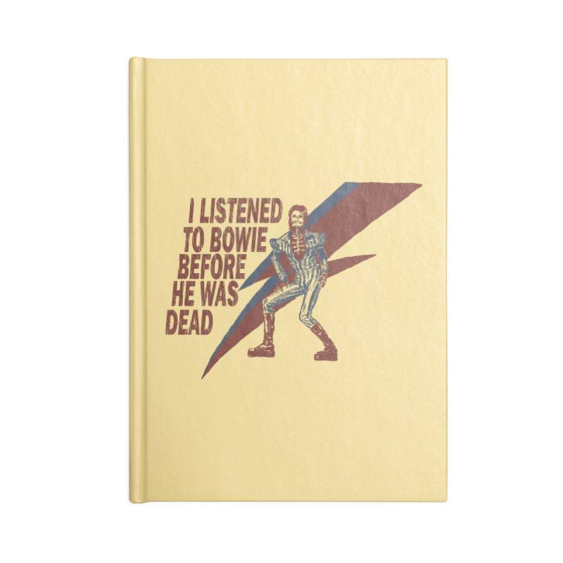 Deado Deado Accessories Lined Journal Notebook by JQBX Store - Listen Together