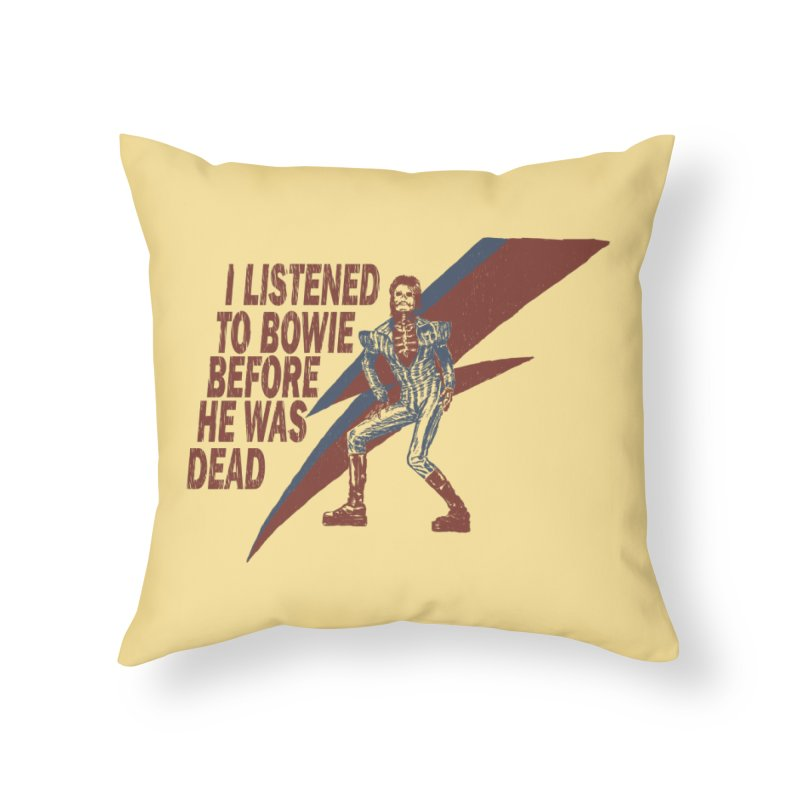 Deado Deado Home Throw Pillow by JQBX Store - Listen Together