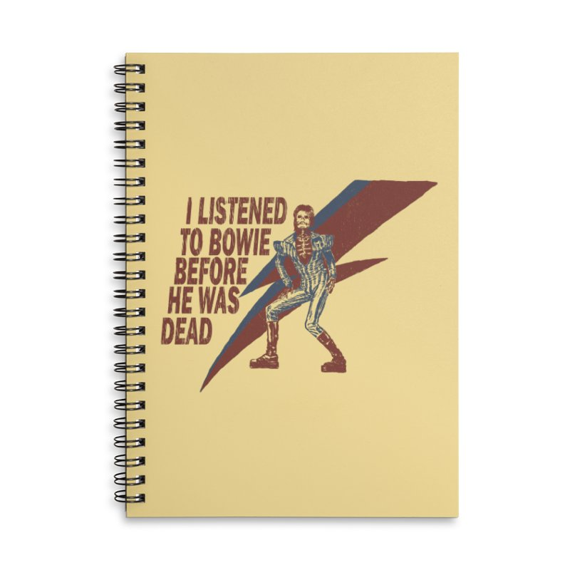 Deado Deado Accessories Notebook by JQBX Store - Listen Together
