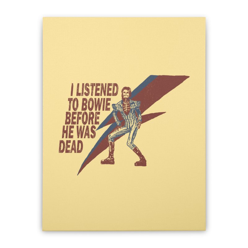 Deado Deado Home Stretched Canvas by JQBX Store - Listen Together