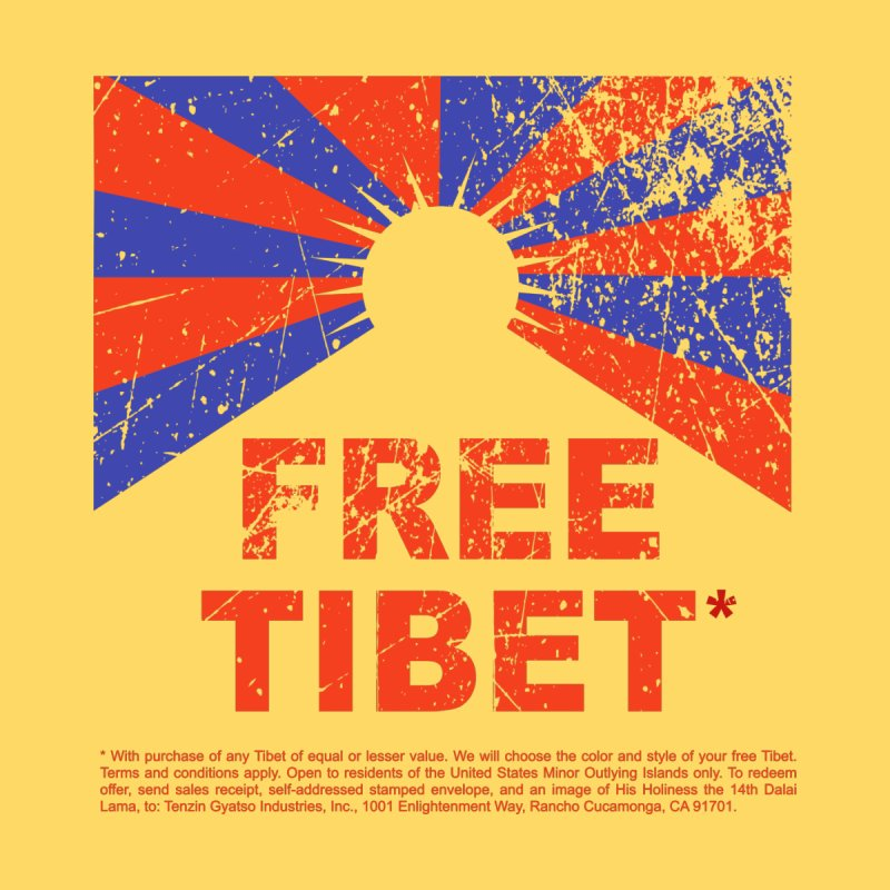 Free Tibet Men's T-Shirt by JQBX Store - Listen Together