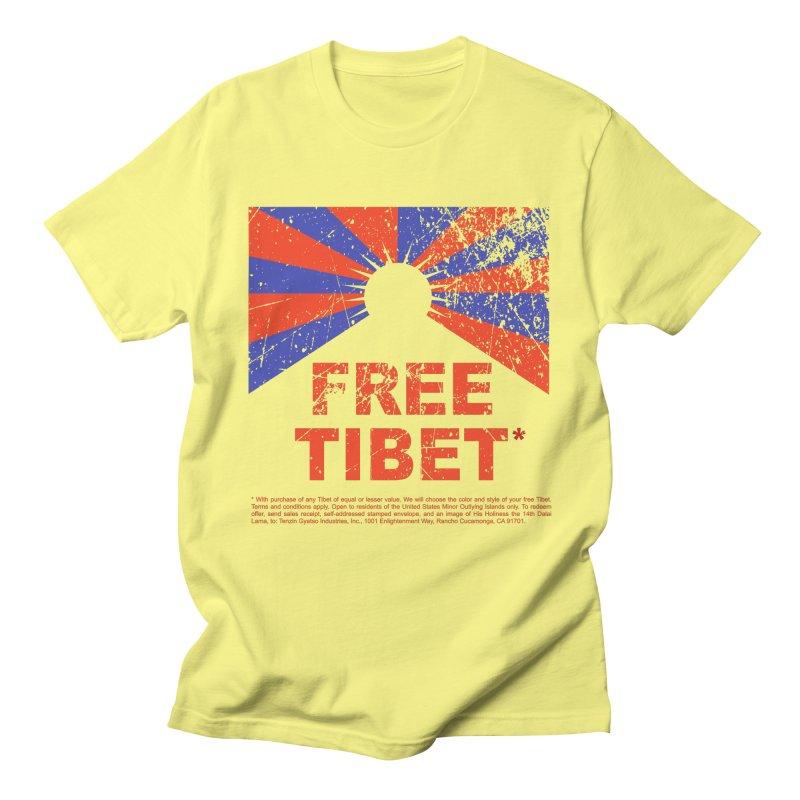 Free Tibet Men's T-Shirt by JQBX Store - Listen Together