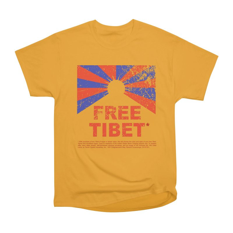 Free Tibet Women's T-Shirt by JQBX Store - Listen Together