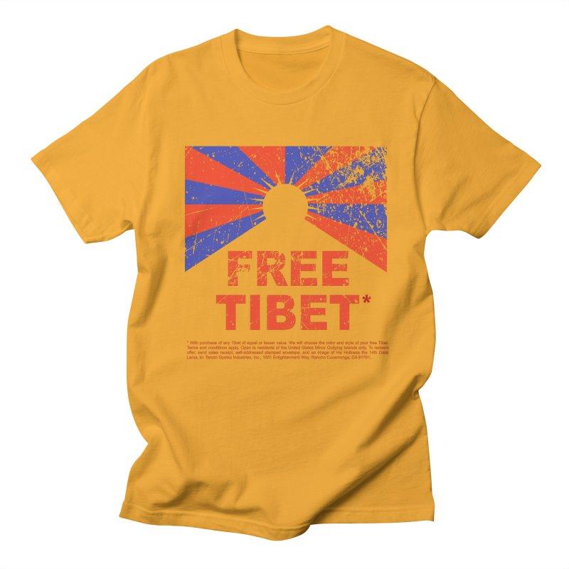 Free Tibet Women's Regular Unisex T-Shirt by JQBX Store - Listen Together