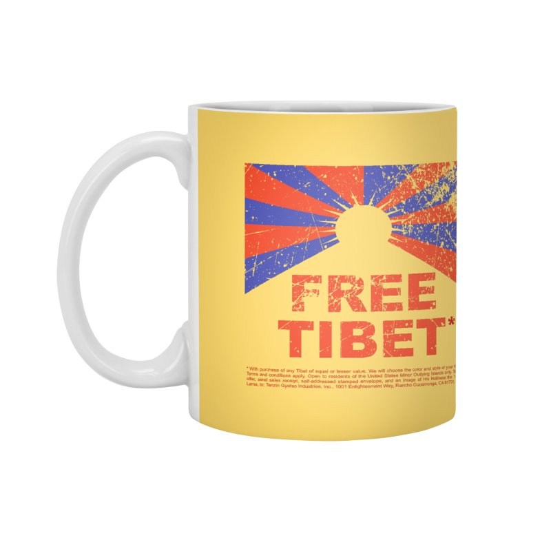 Free Tibet Accessories Mug by JQBX Store - Listen Together