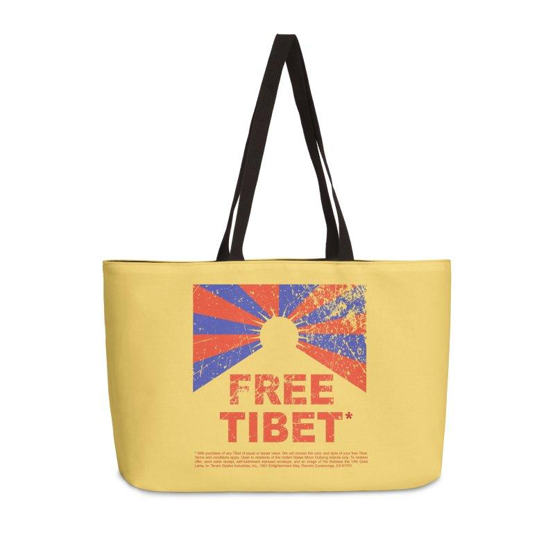 Free Tibet Accessories Weekender Bag Bag by JQBX Store - Listen Together