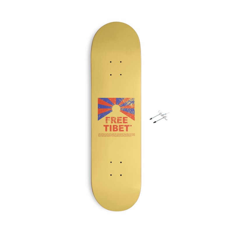 Free Tibet Accessories With Hanging Hardware Skateboard by JQBX Store - Listen Together