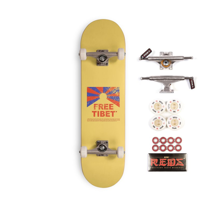 Free Tibet Accessories Complete - Pro Skateboard by JQBX Store - Listen Together