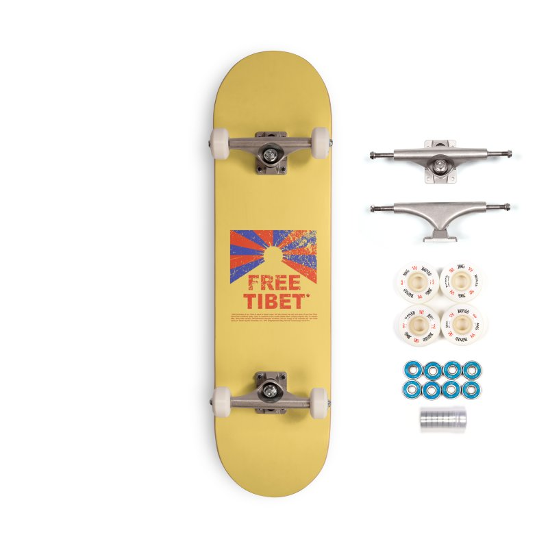Free Tibet Accessories Complete - Premium Skateboard by JQBX Store - Listen Together