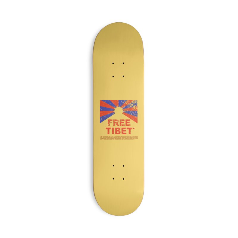 Free Tibet Accessories Deck Only Skateboard by JQBX Store - Listen Together