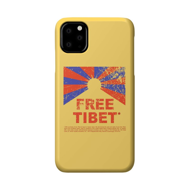 Free Tibet Accessories Phone Case by JQBX Store - Listen Together