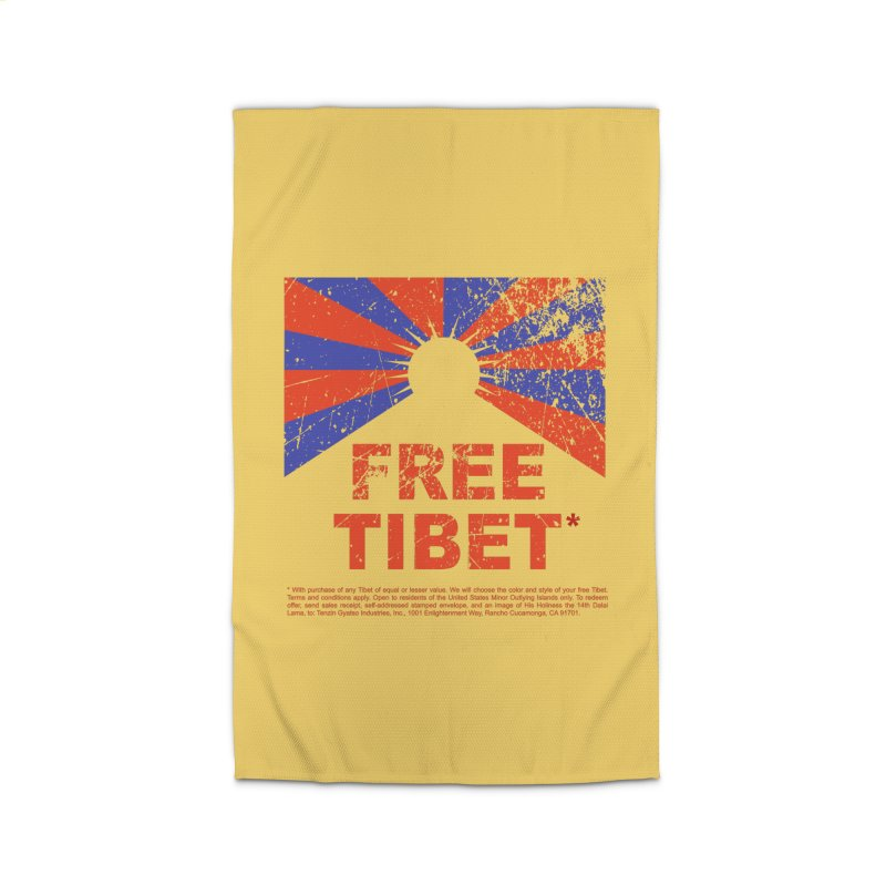 Free Tibet Home Rug by JQBX Store - Listen Together