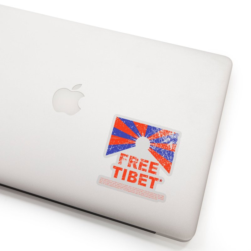 Free Tibet Accessories Sticker by JQBX Store - Listen Together