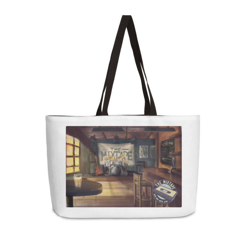 Mixtape Bar Poster Accessories Bag by JQBX Store - Listen Together