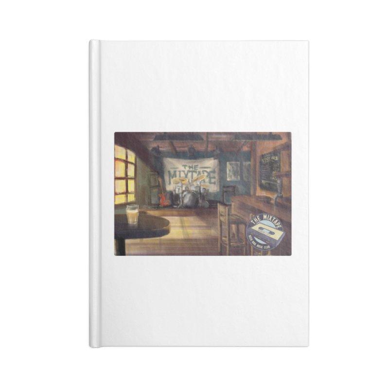 Mixtape Bar Poster Accessories Notebook by JQBX Store - Listen Together