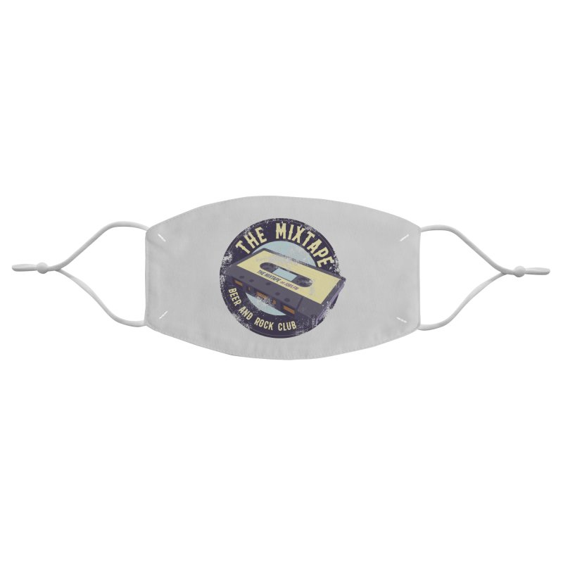 The Mixtape on JQBX Accessories Face Mask by JQBX Store - Listen Together