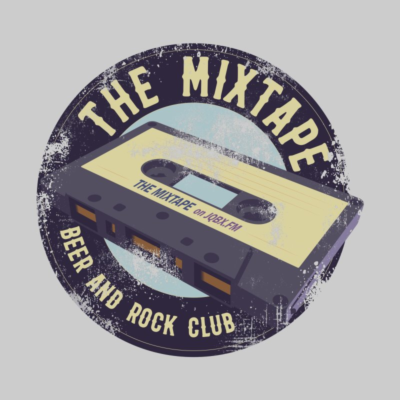 The Mixtape on JQBX Accessories Sticker by JQBX Store - Listen Together