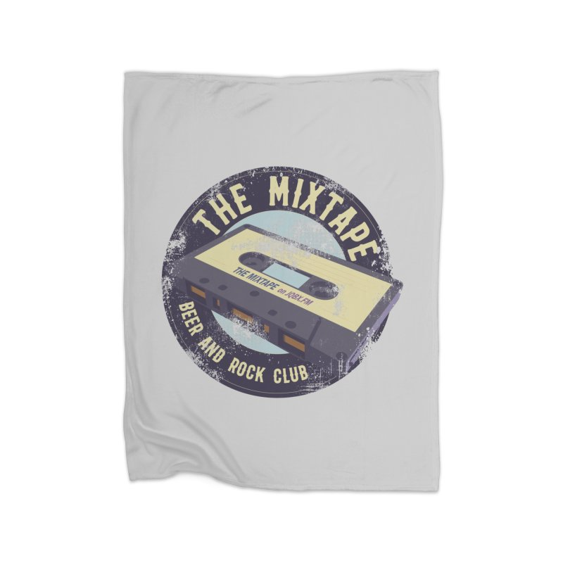 The Mixtape on JQBX Home Blanket by JQBX Store - Listen Together