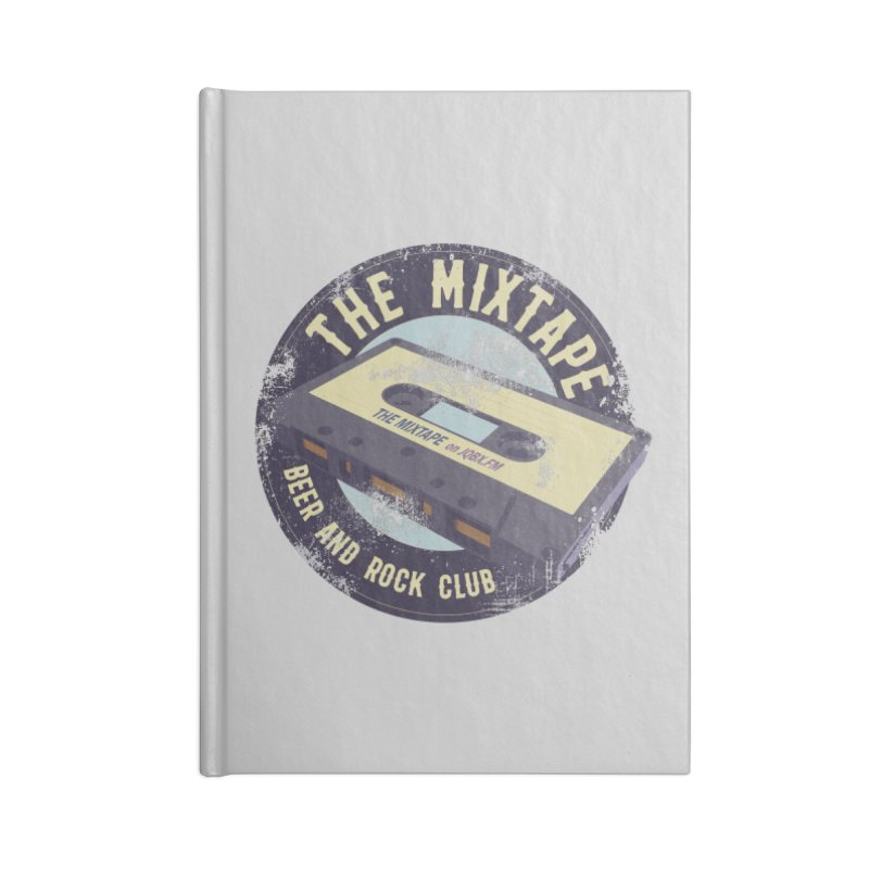 The Mixtape on JQBX Accessories Notebook by JQBX Store - Listen Together