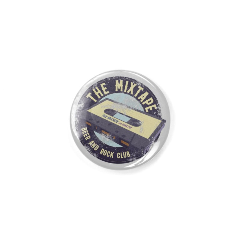 The Mixtape on JQBX Accessories Button by JQBX Store - Listen Together