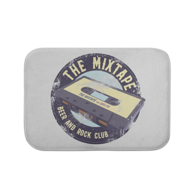 The Mixtape on JQBX Home Bath Mat by JQBX Store - Listen Together