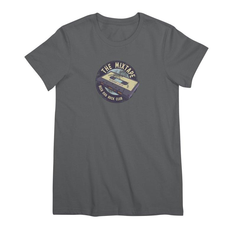 The Mixtape on JQBX Women's T-Shirt by JQBX Store - Listen Together