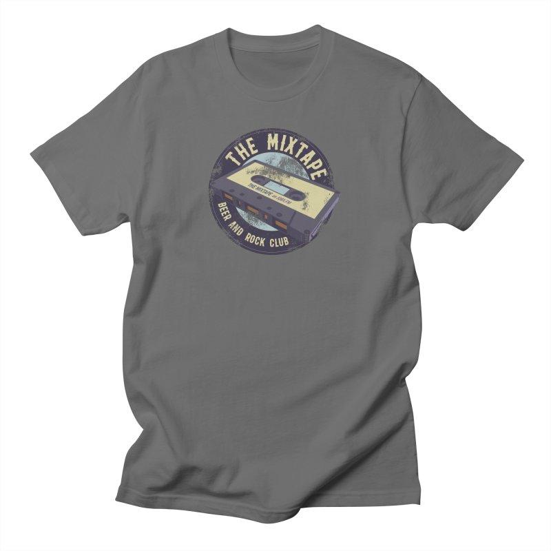 The Mixtape on JQBX Men's T-Shirt by JQBX Store - Listen Together