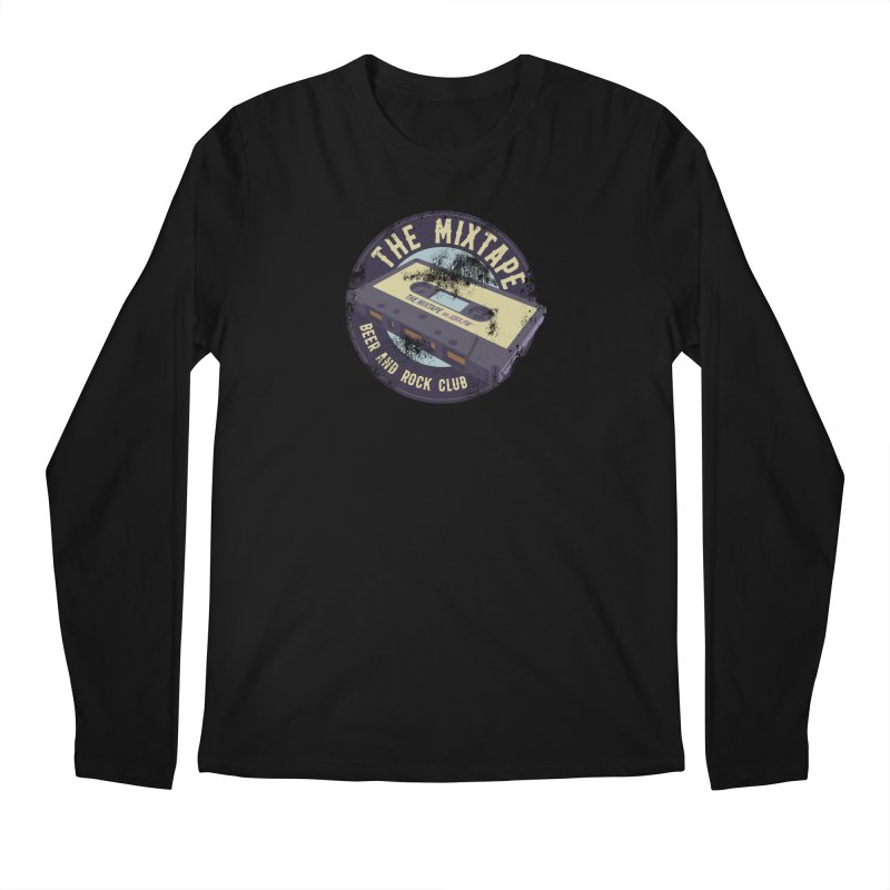 The Mixtape on JQBX Men's Longsleeve T-Shirt by JQBX Store - Listen Together
