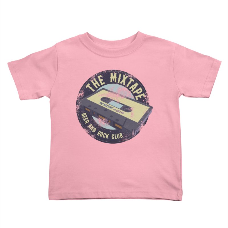 The Mixtape on JQBX Kids Toddler T-Shirt by JQBX Store - Listen Together