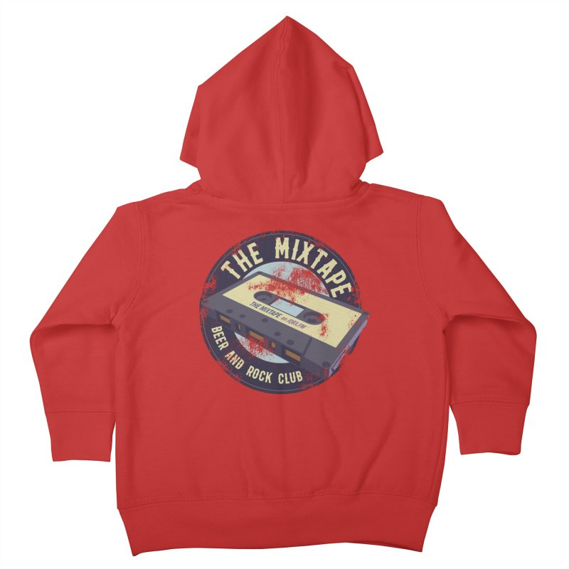 The Mixtape on JQBX Kids Toddler Zip-Up Hoody by JQBX Store - Listen Together
