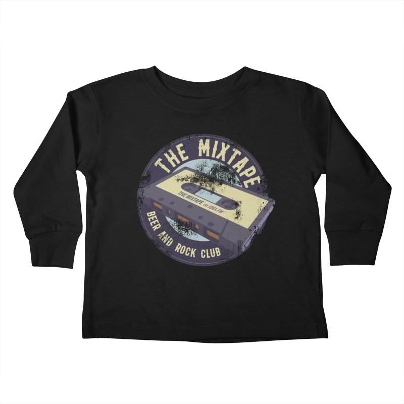 The Mixtape on JQBX Kids Toddler Longsleeve T-Shirt by JQBX Store - Listen Together