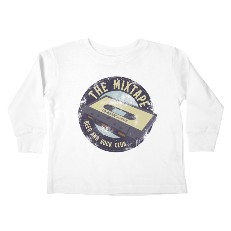The Mixtape on JQBX Kids Toddler Longsleeve T-Shirt by JQBX Store - Listen Together