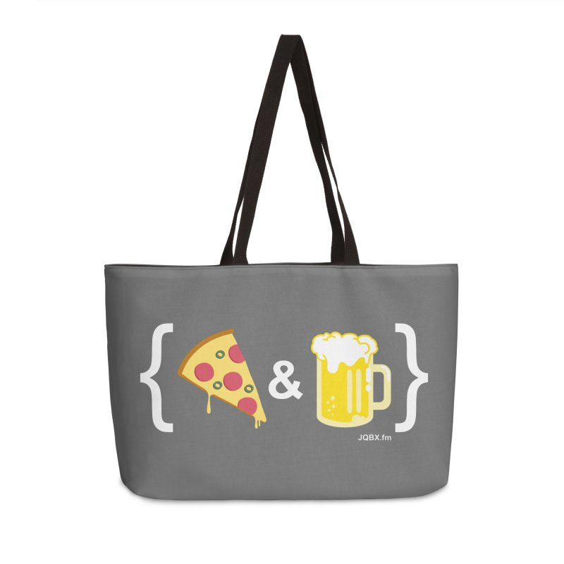 Pizza & Beer JQBX Accessories Bag by JQBX Store - Listen Together