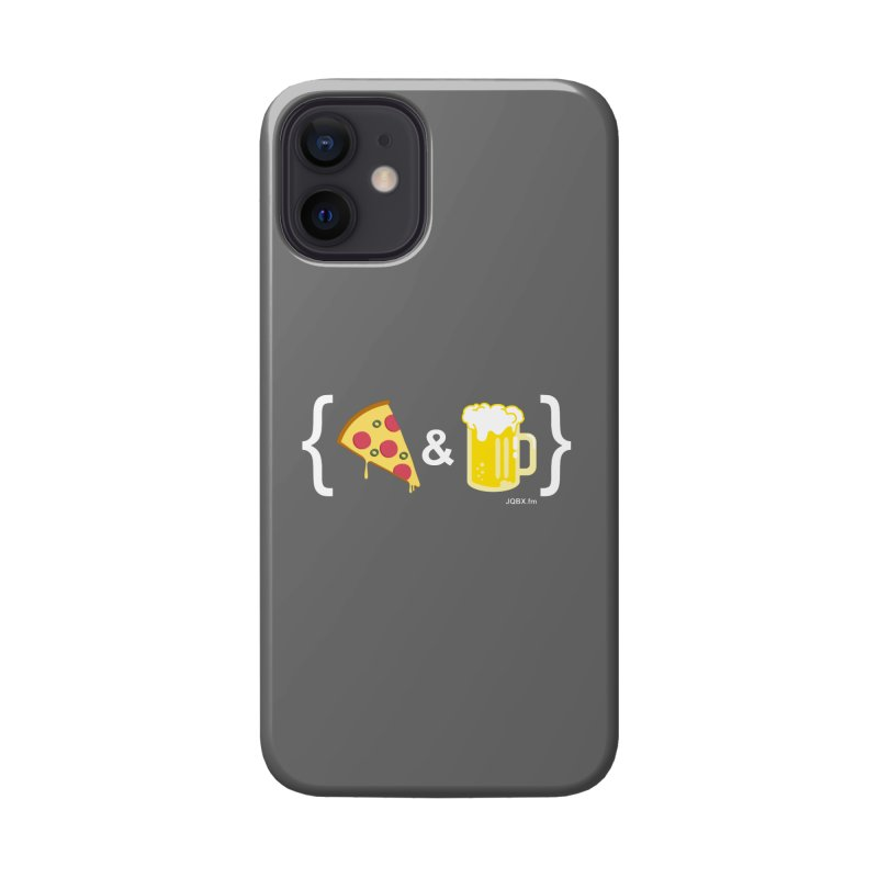 Pizza & Beer JQBX Accessories Phone Case by JQBX Store - Listen Together
