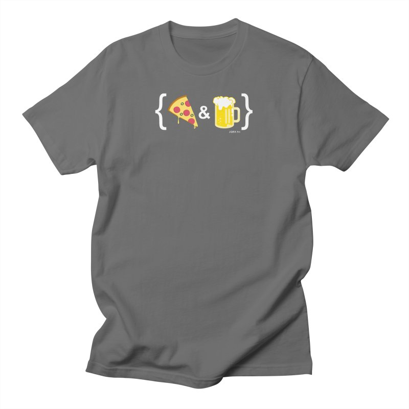 Pizza & Beer JQBX Men's T-Shirt by JQBX Store - Listen Together