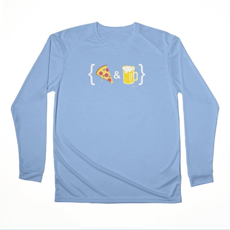 Pizza & Beer JQBX Women's Longsleeve T-Shirt by JQBX Store - Listen Together