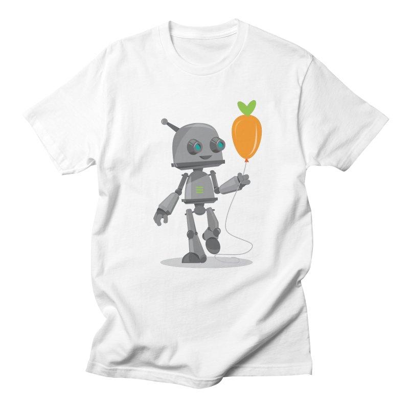 Vegan Bot Men's T-shirt by jr0bert's Shop