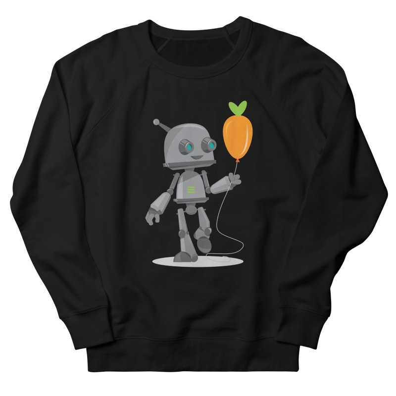 Vegan Bot Men's Sweatshirt by jr0bert's Shop
