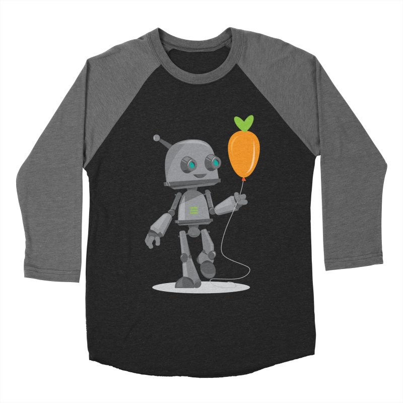 Vegan Bot Men's Baseball Triblend T-Shirt by jr0bert's Shop