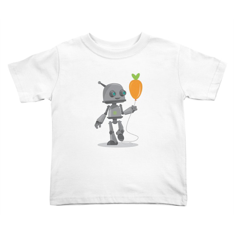 Vegan Bot Kids Toddler T-Shirt by jr0bert's Shop
